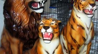 Как слепить тигра