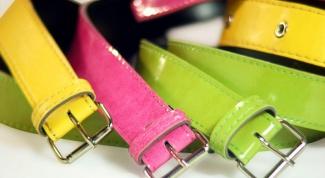 Как носить женские ремни