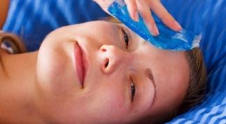 Как быстро убрать синяк на лице