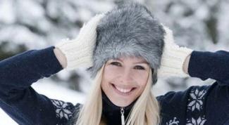 Как быть красивой с началом зимы