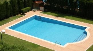 Как построить на даче бассейн