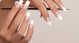 Как наращивать акрилом ногти