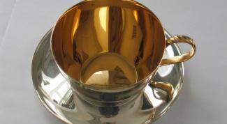Как чистить позолоченное серебро