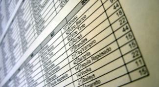 Как в Excel изменить название столбцов