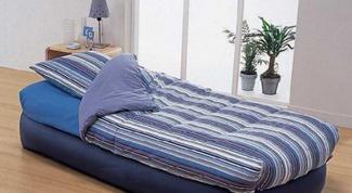 How to pump up the mattress