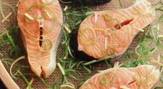 Как можно приготовить красную рыбу