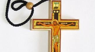Как освятить крестик  в церкви