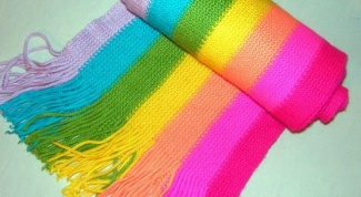 How to knit a striped