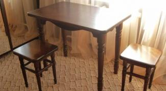 Как отремонтировать старый стол