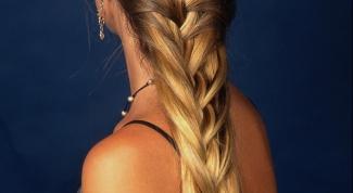 How to braid long hair
