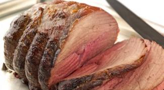 Как лучше запечь мясо