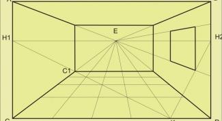 Как нарисовать комнату в перспективе