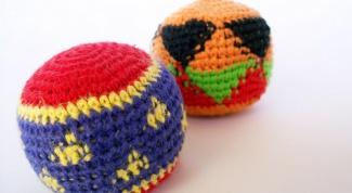 Как вязать шарики