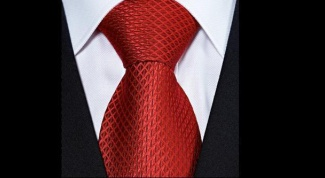 Как завязать галстук крестовым узлом