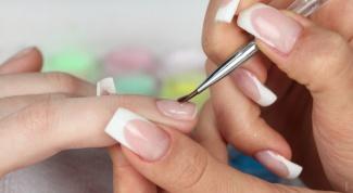 Как делать рисунки из лака для ногтей