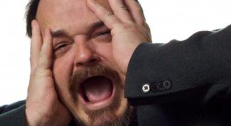 How to calm a nervous man