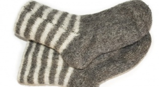 How to knit the heel on double socks