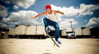 How to do a jump on a skateboard