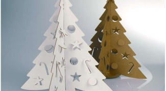 Как вырезать дерево из бумаги