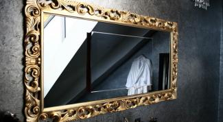 Как вставить зеркало