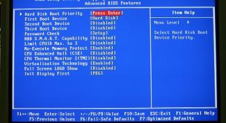 Как в BIOS выбрать флешку