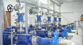 How to adjust a pumping station