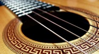Как без камертона настроить гитару