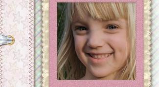 Как обработать детское фото