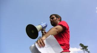 How not afraid to speak in public