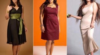 Как одеть полную женщину