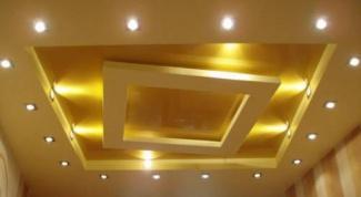 Как визуально увеличить потолок