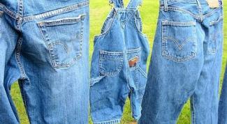 Как отстирать джинсы