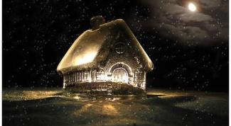 Как нарисовать дом Деда Мороза