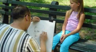 Как нарисовать портрет девочки