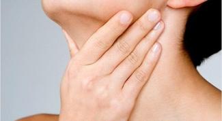 Как обезболить горло