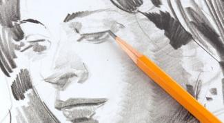 поэтапно нарисовать портрет карандашом