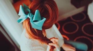 Как вплести ленту в волосы