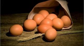 Как определить испорченное яйцо