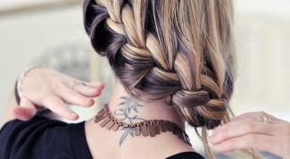 Как нарисовать косу