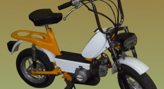 How from Bicycle to make a moped