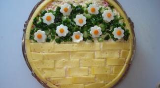 Как оригинально украсить салат в 2018 году