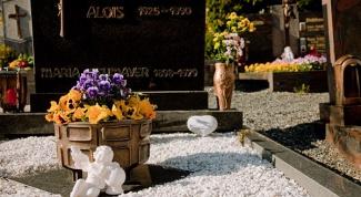 Как отметить годовщину смерти