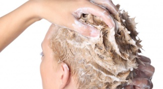 How to clean hair from paint