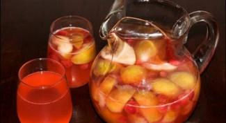Как варить компот яблочный