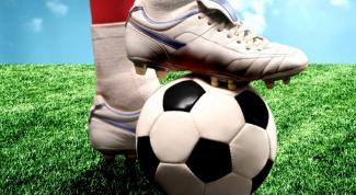 Как бросить футбол