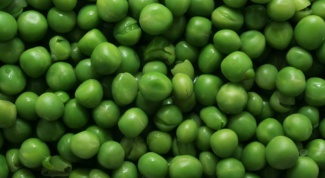 How to boil green peas