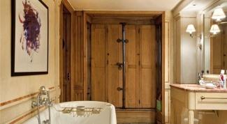 Как выбирать дверь для ванной комнаты