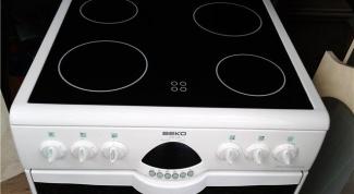 How do you clean ceramic glass stove