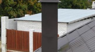 Как вывести трубу на крышу