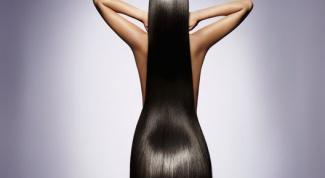 Как быстро выпрямить волосы
